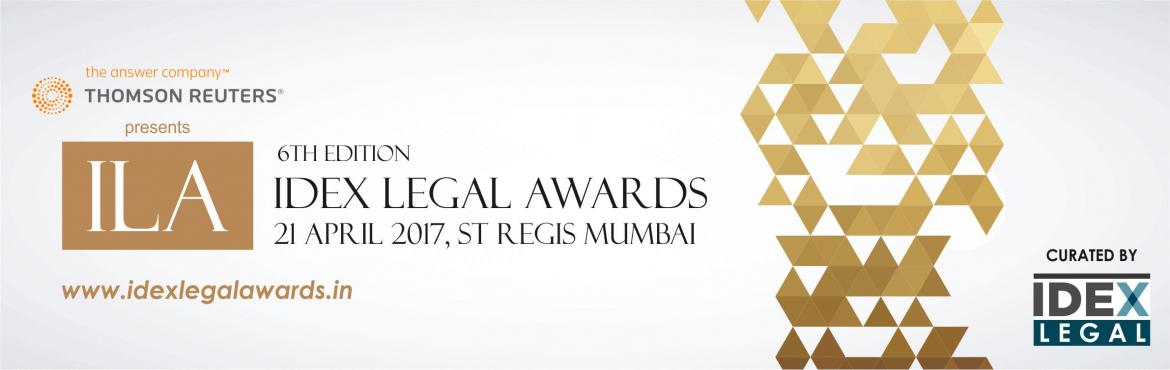 Book Online Tickets for IDEX Legal Awards  , Mumbai. The IDEX LEGAL awards celebrates the achievements of in-house lawyers which is led by an excellent jury line-up including some of India's and the world\'s most respected in-house authorities. The IDEX LEGAL Awards are focused on being, at the v