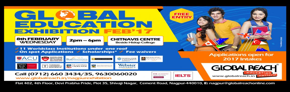 Book Online Tickets for Global Education Exhibition 2017, Nagpur.