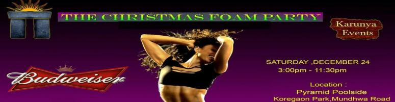 Book Online Tickets for The Christmas Foam Party @ Pyramid Pool , Pune. 