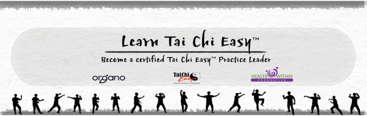 Book Online Tickets for An Introduction To Tai chi easy, Hyderabad.