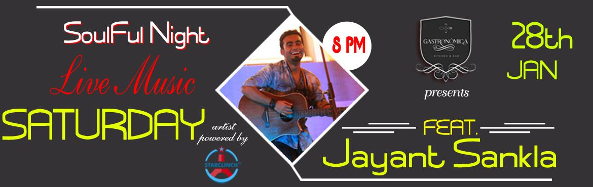 Book Online Tickets for Jayant Sankla Acoustic Solo with Beautif, NewDelhi. Jayant Sankla is an Indian classical vocalist trained from \'Rampur sahaswaan gharana\'. He has sung for an advertisement for the beverage brand, Sprite, with Salim Sulaiman. He has been sin