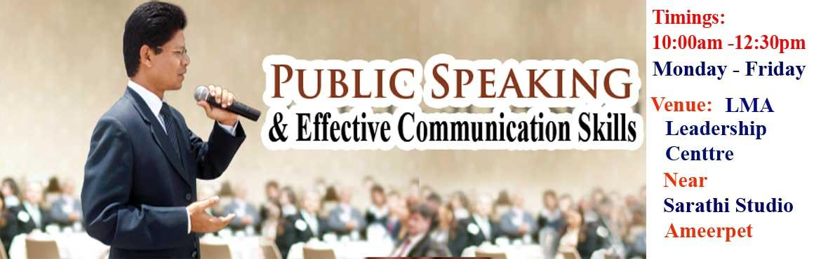 Book Online Tickets for How to be an excellent Public Speaker an, Hyderabad. Welcome to explore self to become a better thinker, an effective communicator, decision maker, Leader and public speaker. To be an effective communicator I must change my thoughts. We communicate and act on the basis of our thoughts and kno