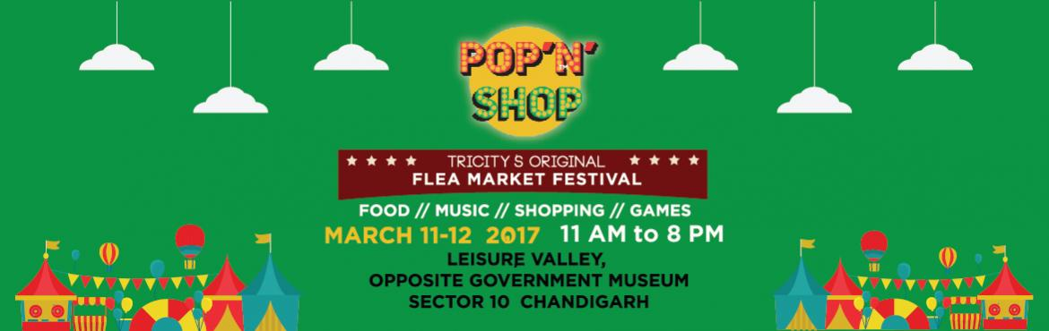Book Online Tickets for Pop N Shop Chandigarh 2017, Chandigarh. PoPNShop is Tricity's first Pop up/ Community fest, being organised with a motive to promote the city's small businesses & put up something fun during Spring. We are a team of people who have been involved with startups/small business