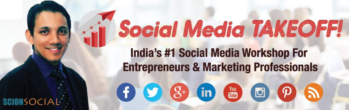 Book Online Tickets for Social Media TAKEOFF Workshop - BENGALUR, Bengaluru. Learn How To Attract More Loyal Customers & Grow Your Business By 10x Using Proven Social Media Strategies On Platforms Like Facebook, LinkedIn, Twitter, Instagram & Blogging.    Day 1 - STRATEGIZE (March 3rd, 2017 - Friday)     80%
