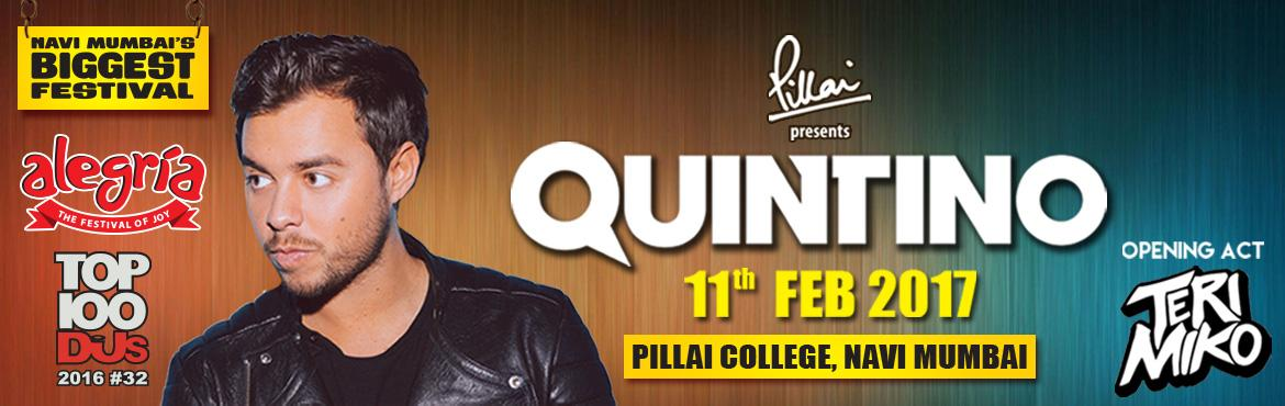 Book Online Tickets for World No. 32 Quintino and Teri Miko at P, Mumbai. Mahatma Education Society's Pillai Group of Institutions proudly presents its mega festival, Alegría – The Festival of Joy from the 7th to the 11th of February 2017. Alegría has now become one of the biggest festivals in Ind