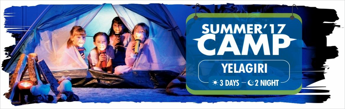 Book Online Tickets for Nature Journey Overnight summer camp at , Yelagiri.     Location   Yellagiri     Pick up and drop   Opposite  to HSR Layout BDA Complex      Time   9:30 am-5:00pm       Inclusive :     Welcome Drink Breakfast Lunch Evening Tea Snacks Dinner Task Based Activities Challenging Activities T