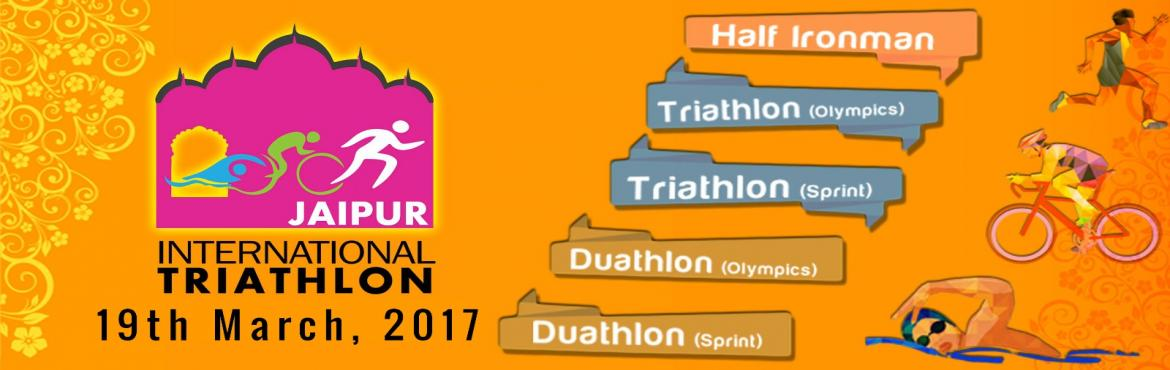 Book Online Tickets for  Jaipur International Triathlon, Jaipur. Rajasthan\'s first and it\'s own Triathlon is here! Jaipur Triathlon is on 19th March 2017. Join us in promoting endurance sports. Ticket Fee includes: 1) Registration Kit (personalized bib and placard for bike, timing chip, tags for helmet, bag) 2)