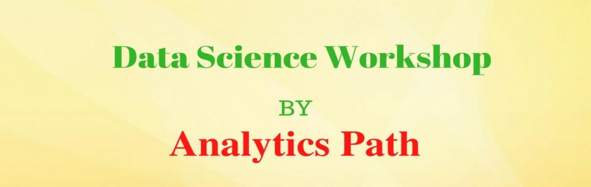 "Book Online Tickets for Data Science Workshop on 21st January, 2, Hyderabad. Step into the World of Data Science / Big Data Analytics About the Event  Data Scientist has been named as ""the sexiest job title of the 21st century"".  Why are data scientists in such a high demand these days? Explore"