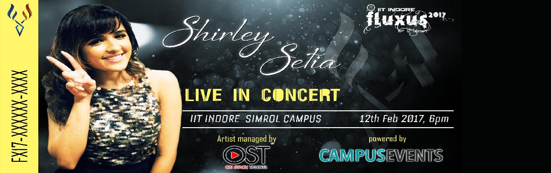Shirley Setia LIVE