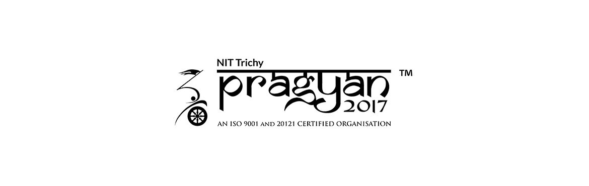 Book Online Tickets for PRAGYAN, TIRUCHIRAP. Pragyan is the brainchild of this collection of brightest minds in India. Conceived in 2005 as a platform for engineering students to showcase their skills and knowledge in fun, practical and innovative ways, in just 10 years, Pragyan has grown from