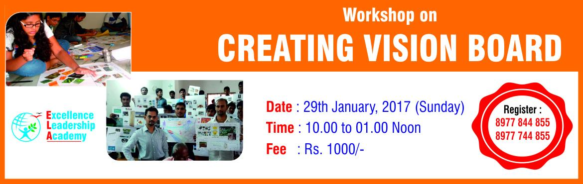 Book Online Tickets for Workshop on Creating Vision Board, Hyderabad. Have you set goals for 2017? What happened to your new year resolutions? How are doing on your journey? 60% of the people fail to keep new year resolutions less than a month. The estimate is that less than 10% of New Year\'s resolutions are actually