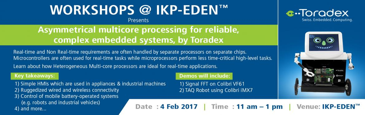 Asymmetrical Multicore Processing for Reliable, Complex Embedded Systems, presented by Toradex