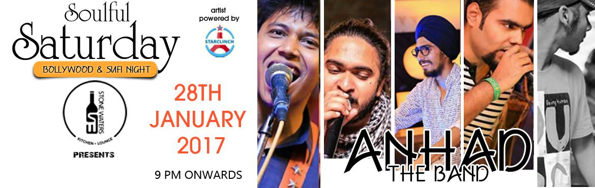 Book Online Tickets for Anhad The Band Performing at Stone Water, Hyderabad. Anhad is a multi genre Hindi band, inspired by the life of today\'s youth. You can feel their hard work and passion in their music. The band is based out of the capital city of India, New Delhi. Famous for their \'multi-genre