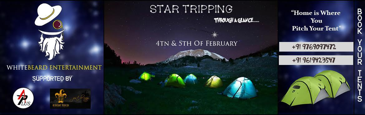 Book Online Tickets for | STAR TRIPPING | CAMPING FESTIVAL 2017 , Nashik. WhiteBeard Entertainment is back with its camping fest, STAR TRIPPING. De-stress yourself by the waters of Gangapur dam. Our fest is all about being solitude with the waters of Gangapur dam, the blanket of stars and some mountains to put the cherry o