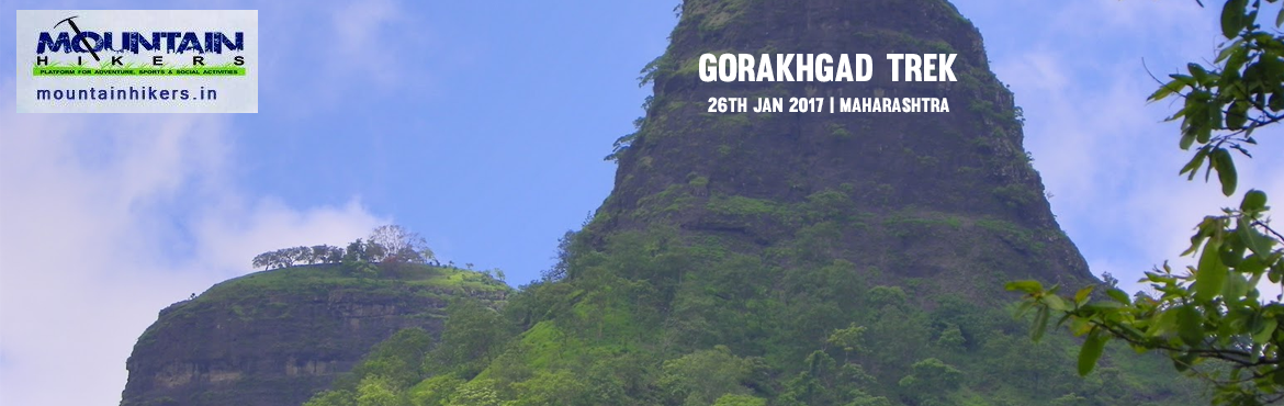 Book Online Tickets for Gorakhgad Trek, Murbad.  Though the history of the fort is not known, Gorakhgad attracts trekkers due to its thrilling experience of climbing vertical rock wall and breath-taking views. This region of Gorakhgad and Machchindragad has a dense forest cover. This fort is named