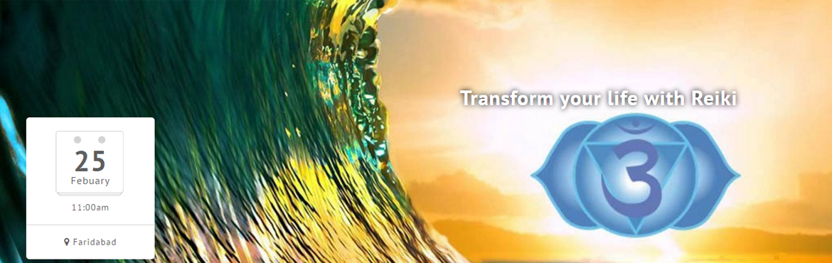 Book Online Tickets for Transform your life with Reiki, Faridabad. Reiki is a Japanese technique which helps in holistic healing. It aids you to not only heal your physical body but also brings about changes in your mind, attitude and helps in your spiritual growth.  Reiki helps to heal yourself, your kids, your lov