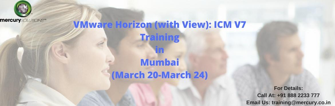 Book Online Tickets for VMware Horizon View ICM V7 Training in M, Gurugram. VMware Horizon Install, Configure, & Manage [v7] renders elementary skills to candidates for creating virtual desktops and applications using a single virtual infrastructure. This course helps in building the expertise to install, configure and m