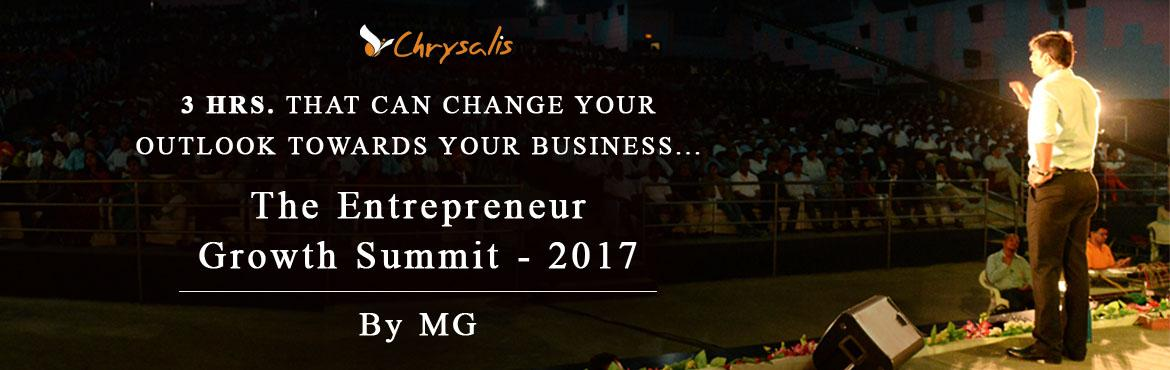 Book Online Tickets for Entrepreneur Growth Summit Feb17, Pune. It is essential for an entrepreneur to be with the market dynamics and empower himself regularly to overcome the organisational challenges which accompany growth. Because being an entrepreneur is all about being on top of our challenges, whether it i