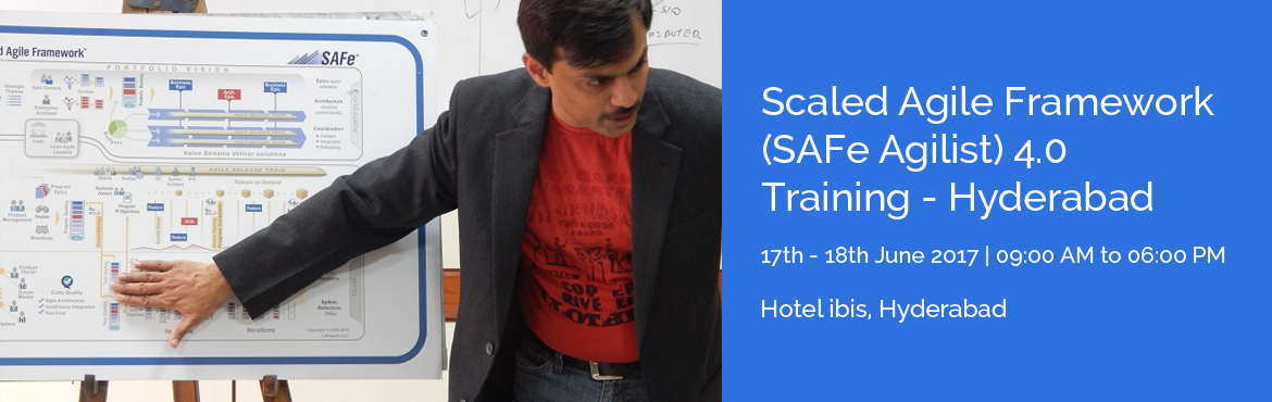 Book Online Tickets for Scaled Agile Framework (SAFe Agilist) 4., Hyderabad. Overview Agile and scrum has proved their worth for in delivering value and productivity. In most organizations, the agile journey begins with a small team, and once there is success in the venture, the need for scaling Agile becomes quite evident. T