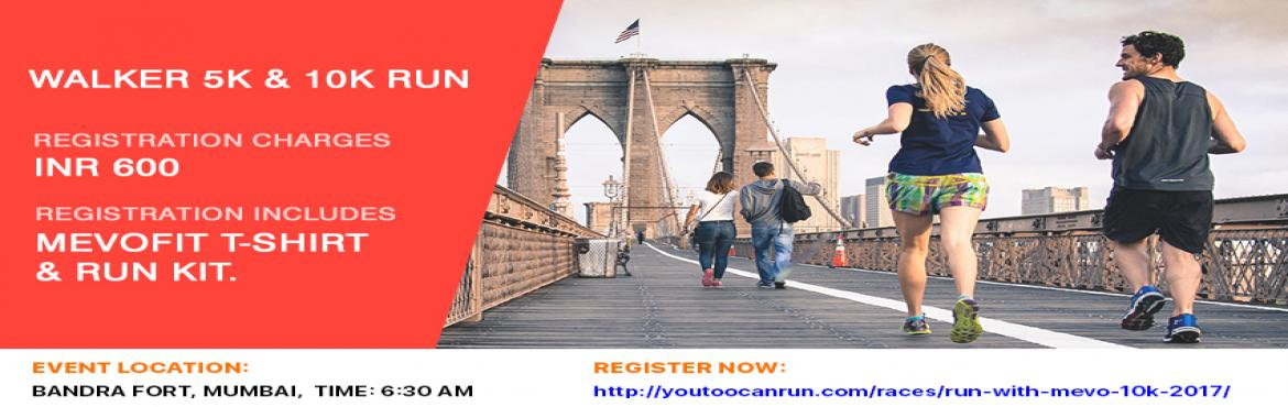 Book Online Tickets for RUN WITH MEVO, Mumbai. Test Your Stamina | Test Your Will | Prepare To Sweat OutTake your steps towards a healthy world because \'ignorance isn\'t a bliss\' when it comes to your personal well being & health. Take part in the Run with Mevo 10 K and get the opportunity