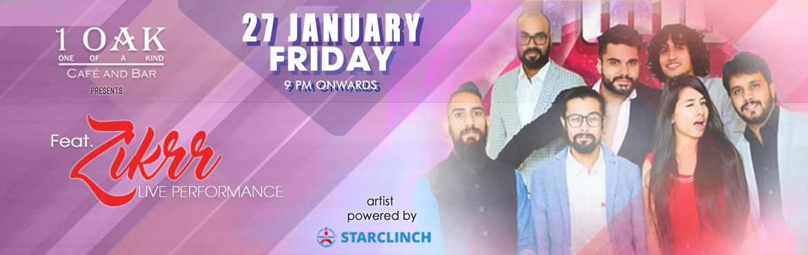 Book Online Tickets for Zikrr Full band with Jatin and Nidhi Per, NewDelhi. Zikrr is a fusion Indian rock band playing Sufi and Punjabi folk with a unique approach to music and melodies. Zikrr, meaning to mention, promises to stir up emotion