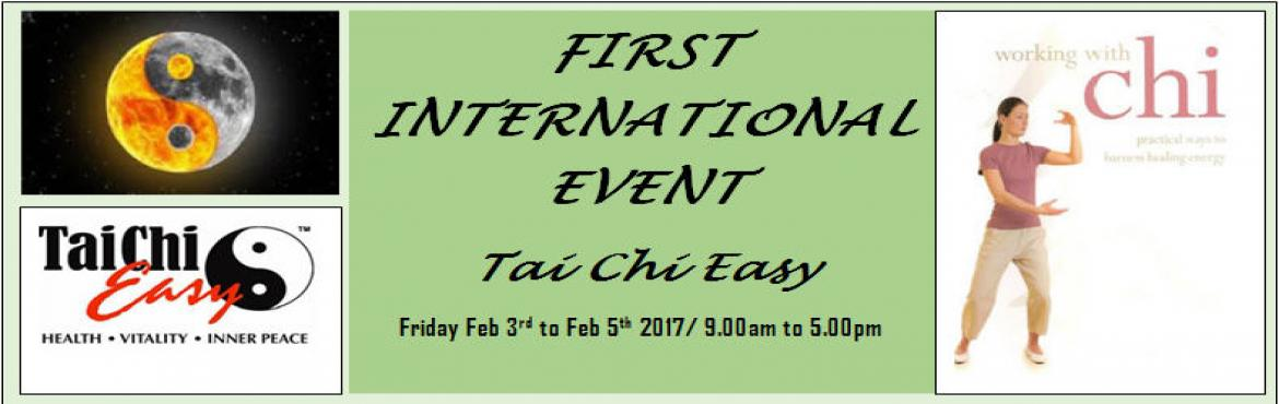Book Online Tickets for Become a Certified Tai Chi Easy Practice, Hyderabad. Qigong and Tai Chi to Enhance Your Health and Well Being Qigong and Tai Chi are moving meditations which use slow graceful movements and controlled breathing techniques to strengthen your mind-body connection, reduce stress, and improve circulation t