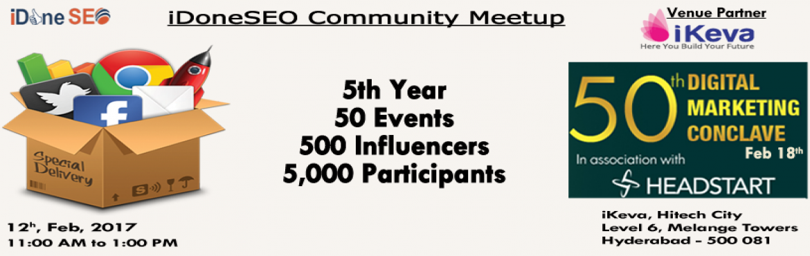 iDoneSEO Community Meetup