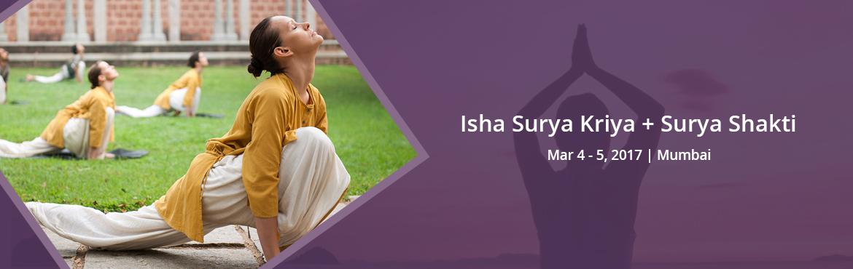 Isha Surya Kriya  | March 4 - 5, 2017 | Andheri W | Mumbai