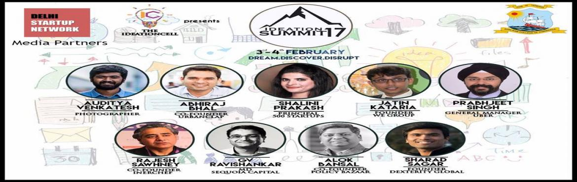 Ideation Summit 2017 - Powered by 500 Startups and Sequoia Capital
