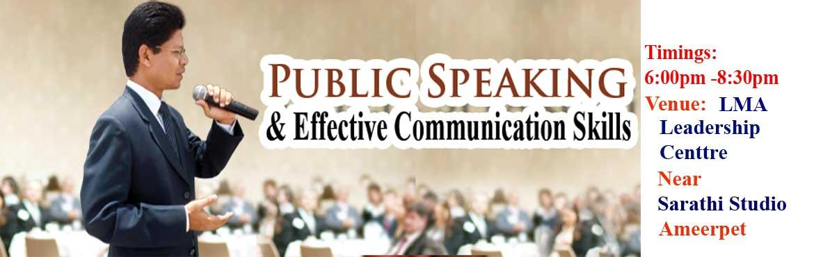 Public Speaking and Effective Communication Practice Seminar