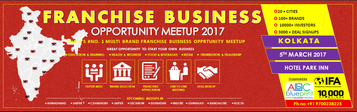 Franchise Opportunity Meetup - Kolkata