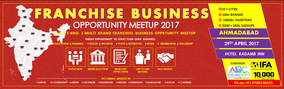 Franchise Opportunity Meetup Ahmadabad