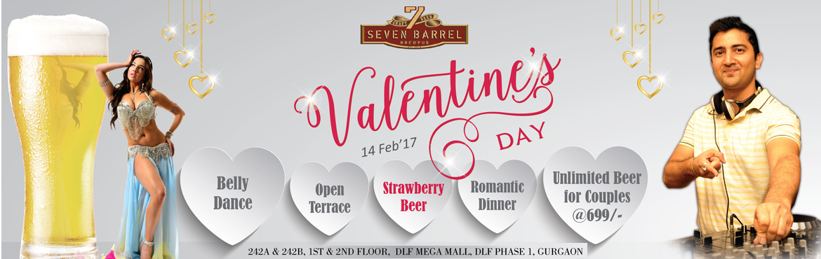 Valentines Day event at 7 Barrel Brew Pub