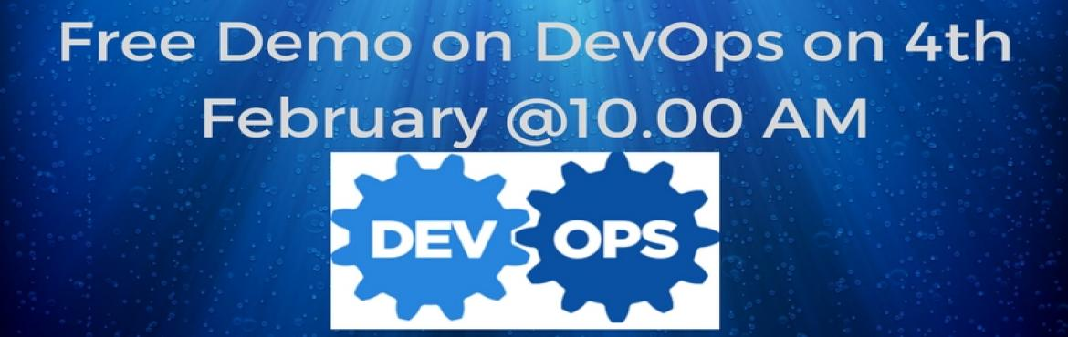 Open Source Technologies Offering Free Demo On DevOps On 4th February 2017 @ 10 AM