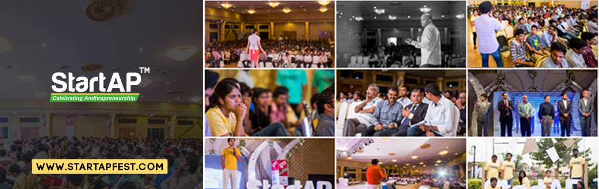Book Online Tickets for StartAP Fest Amaravati, Vijayawada. The most happening startup fest of Andhra Pradesh is back in Vijayawada. The fest is run by an awesome team of entrepreneurs, freelancers, and volunteers and is the largest conference of, by, and for Andhrapreneurs. StartAP™ is a stor