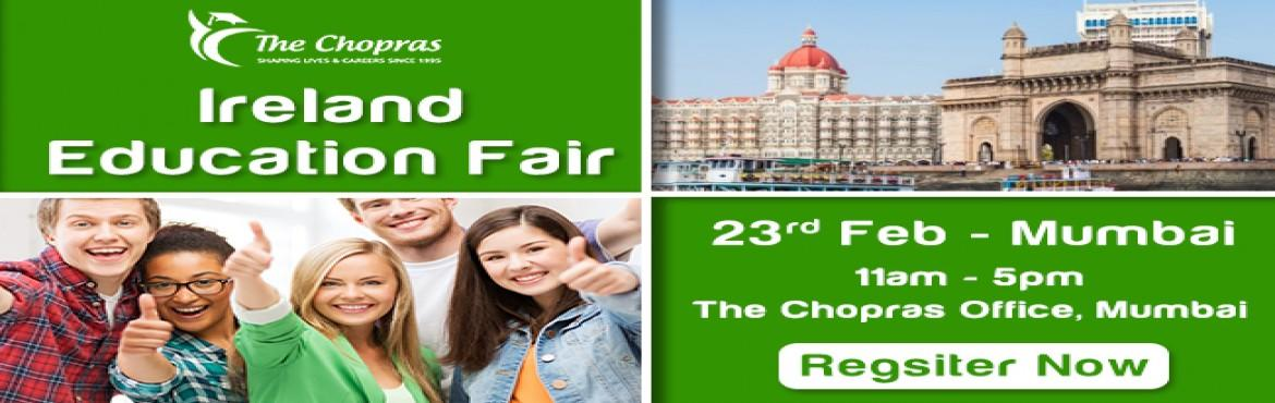 Book Online Tickets for Ireland Education Fair 2017 in Mumbai - , Mumbai. Ireland is held as the world's leading center for research with overwhelming investments of over 700 million Euros annually aiming to set its higher educational institutions as a benchmark in globally. Well known for its exotic music and rich C