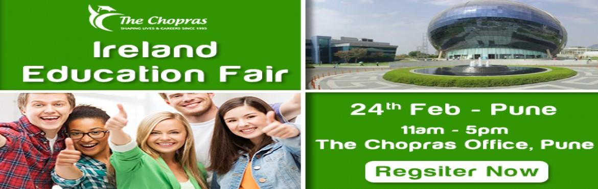 Ireland Education Fair 2017 in Pune - Free Registration