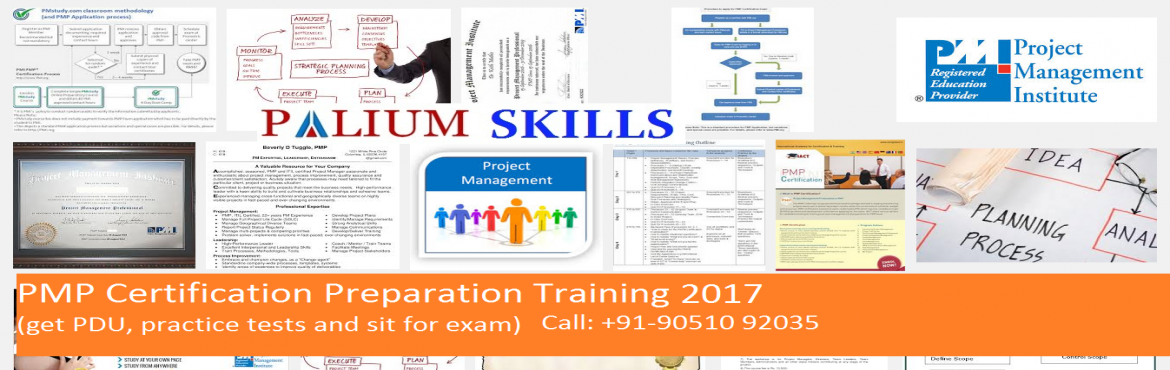 Book Online Tickets for PMP Certification Classroom Training Kol, Kolkata. Mark your calendar - the next batch of PMP Certification Training with PDUs is scheduled to be held in Kolkata from 19thFeb\' 2017 (4 days).Dates: 19th,25th,26th, Feb and 5th Mar 2017The Project Management Professional (PMP®) program