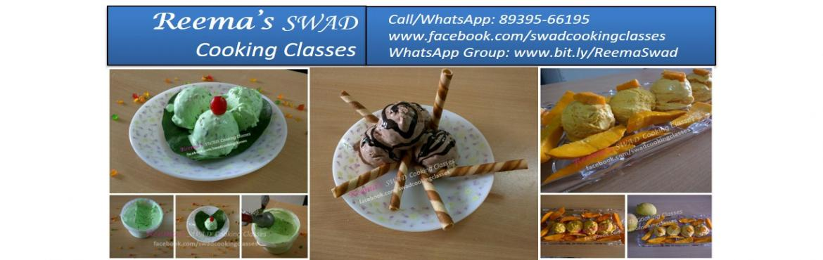 Book Online Tickets for Ice Cream Making Workshop, Chennai. Reema\'s Swad Cooking Classes schedules yummy lip-smacking ice creams 〰〰〰〰〰〰〰〰 ♦Date: 11-Feb Timing: 11-1 PM  This class includes ♦Ice Cream making without ice cream maker ♦Fast (Jhatpat) Ice Cream  Following Ice Cre