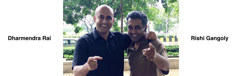 Rishi Gangoly and Dharmendra Rai Trainers Expo