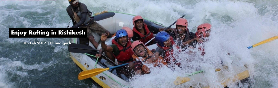 enjoy rafting in rishikesh