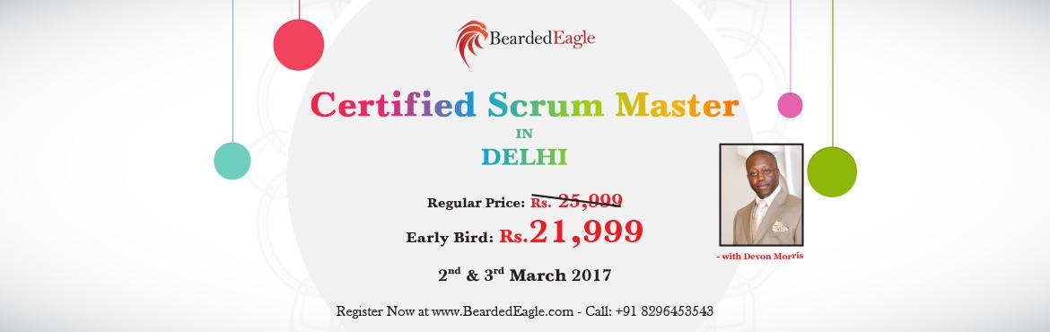 Book Online Tickets for Certified Scrum Master (CSM) Training in, NewDelhi. CSM Agenda:    Foundational Agile Concepts Overview of Scrum (what Scrum is & what Scrum is not)   Foundational Intro to the Scrum Framework   When To Use Scrum   Introduction to Scrum Roles & Human Side Of Scrum   Deep Dive Scrum Roles   Whe