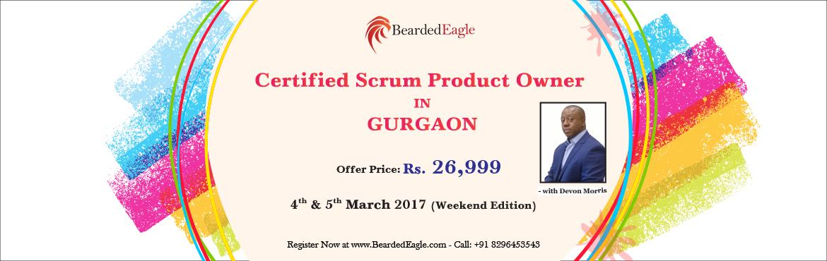 Book Online Tickets for Certified Scrum Product Owner (CSPO) Tra, Gurugram. Increase Your Product Owner SuccessThe workshops are led by a BeardedEagle Certified Scrum Trainer (CST). Our trainers use hands-on exercises to share their knowledge. When you participate in our CSPO workshop, you will be encouraged to ask questions