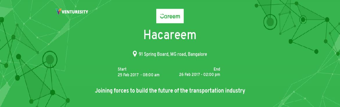Book Online Tickets for HACAREEM 2017, Bengaluru. Your Java skills could send you to Berlin or Dubai! The 1 st ever Hackathon hosted by Careem aims to find the best candidates for their German & UAE offices. Don't miss this opportunity to show of your skills at HaCareem!  Who is