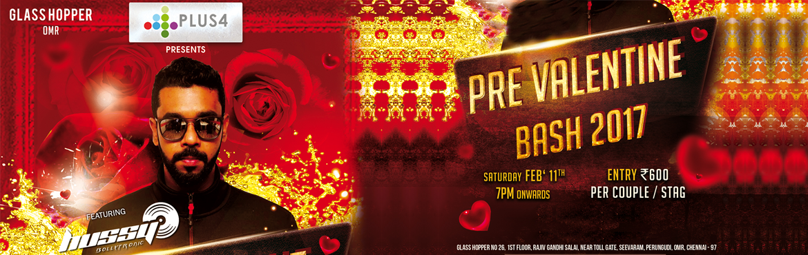 Pre-Valentines Bash With DJ Hussy