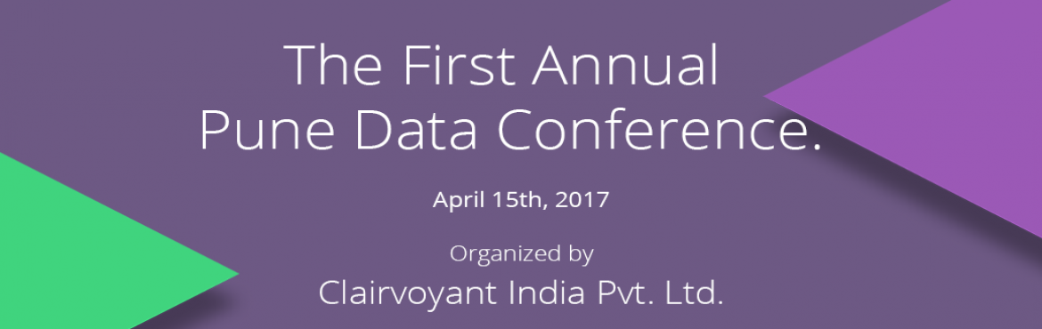 Book Online Tickets for First Annual Pune Data Conference, Pune. After successfully hosting the 3rd Annual Big Data Conference in Phoenix, Arizona, we are excited to announce The First Annual Big Data Conference in Pune, India. A premier event featuring keynotes from Big Data industry with comprehensive tech