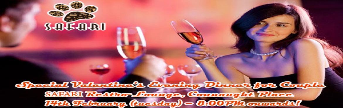 Valentine Day Special Romantic Evening Dinner for Couple