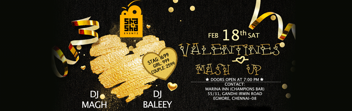 Valentines Mashup Party in Marina Inn Hotel