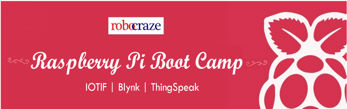 Book Online Tickets for Raspberry Pi Boot Camp, Bengaluru. Heard about the Raspberry Pi but didn't know how to get started. Always wanted to know what the fuss is about but afraid that things might be too complicated. Now you can get started with building various applications on the Raspberry Pi withou