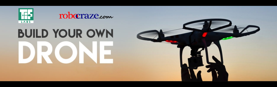Book Online Tickets for Build Your Own Quadcopter, Hyderabad. 'Build Your Own Drone' workshop is back with a bang! A quadcopter is a multirotor helicopter that is lifted and propelled by four rotors. Every team will be given their own drone kit (cost included in ticket price) which they will design